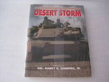 NEW Sealed DESERT STORM Military History Mag Col. Harry G. Summers Jr HC w/DJ