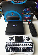 JAILBROKEN M8S BOX MINI KEYBOARD PHOENIX NAVIX LIVETV MOVIE SHOWS PPV SPORT