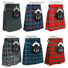 Scottish Mens Kilts 5 Yard Kilts 13oz, Casual Kilt, Various Sizes and Tartans