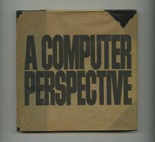 1973 Ray + Charles Eames Office A COMPUTER PERSPECTIVE 1st ed. with dust Jacket