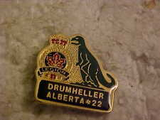 DRUMHELLER ROYAL CANADIAN LEGION  BRANCH # 22 LAPEL PIN DINOSAUR PICTURE