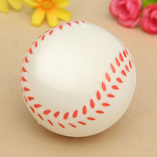 Baseball Hand Wrist Exercise Stress Relief Relaxation Squeeze Soft Foam Ball