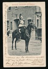 Military ROYAL HORSE GUARDS u/b PPC 1903