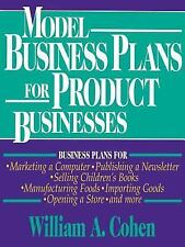 Model Business Plans for Product Businesses-ExLibrary