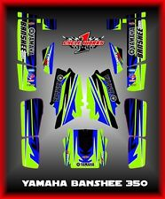 YAMAHA BANSHEE 350 YFM350 SEMI CUSTOM GRAPHICS KIT NEWJACK4