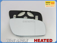 Wing Mirror Glass MERCEDES E-Class W211 06-09 Wide Angle HEATED Right Side #E025