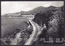 NAPOLI CASAMICCIOLA TERME 13 ISCHIA Cartolina FOTOGRAFICA viagg. 1953 ALTEROCCA