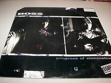 "Boss Progress of Elimination / Livin' Loc'd 12"" Single NM DJ West 42-77125 1993"