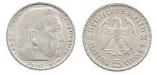 5 Reichsmark 1935 F - Paul von Hindenburg - Silber