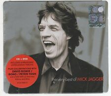 MICK JAGGER ROLLING STONES THE VERY BEST OF CD + DVD  SEALED!!!