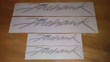 Firebird Trans Am Firehawk decals 2 color set Pontiac SLP 7 year vinyl set of 4