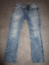 Womens Silver Jeans 4P/Short Suki Straight Sort of Acid Washed Look Light Wash