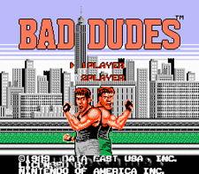 Bad Dudes - 2 Player Fun NES Nintendo Game