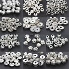Charms Metal Alloy Spacer Beads 4mm 5mm 6mm 7mm 8mm 9mm Craft Jewelry Findings