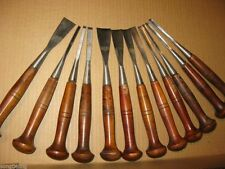 Sharped 12pcs ASSORTED LOT WOOD CARVING TOOLS,Chisel