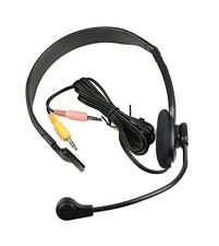 Emkay PC COMPUTER CUFFIE - 3,5 mm PC EARPHONE MICROFONO-SKYPE VOIP