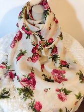 Rose Wool Scarf