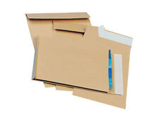 500 Gusset Envelopes 305 x 254 x 25mm Manilla No Window / Plain 130 gsm +24h Del