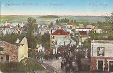 ✚753✚ German Field Postcard Feldpost WW1 FRANCE WESTFRONT RUINS MARIE-A-PY 1915