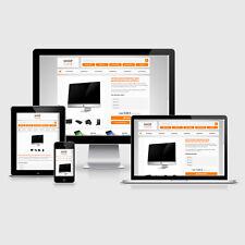 eBay Auktionsvorlage Avis Orange Responsive Design HTML Template Vorlage