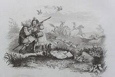 Chants et Chansons populaires de la France 1843 - Le refrain du chasseur vénerie