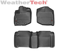 WeatherTech® DigitalFit FloorLiner - 2009-2013 - Honda Fit - Black
