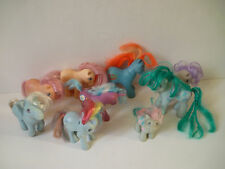 Lot de 9 Petit Poney My Little Pony G1 années 80'S