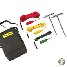 Fluke ES165X Earth Spike Test Kit for Fluke 1653B & 1654B Multifunction Testers!