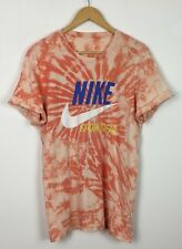 NIKE VINTAGE RETRO 90s TIE DYE TSHIRT TOP SHIRT SPORT ATHLETIC FESTIVAL URBAN M