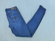 JUNIORS LEVIS 524 TOO SUPERLOW SKINNY JEANS SIZE 5x29 #W199