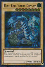 1x Yugioh Blue-Eyes White Dragon YSKR-EN001 1st Ed Ultimate SP