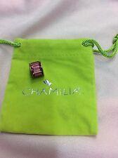 Brand New Chamilia Pink Baguette Swarovski Charm