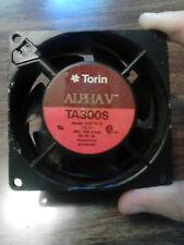 Torin Alpha V TA300S model A30716-10 fan 115v .062/.058 Amps 50/60 Hertz