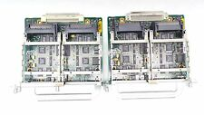 Lot of 2 Cisco NM-VOICE 2V Interface Card Voice / fax module With 1 Blank