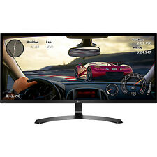 "LG 34"" WFHD (2560x1080) 21:9 UltraWide IPS, Sleek Cut Freesync Monitor 34UM59-P"