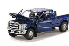 "Ford F250 Pickup Truck - Crew Cab - 6 Ft Bed - ""BLUE"" - 1/50 - Sword #SW1200B"