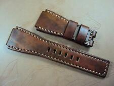 Bell & Ross Santoni leather watch strap band fits BR-01, BR-03 or BR-02