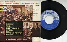 CARMEN CAVALLARO disco EP 45 g MADE in ITALY  The Eddy Duchin COLONNA SONORA OST