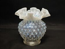 Fenton Glass Hobnail French Opalescent Vase