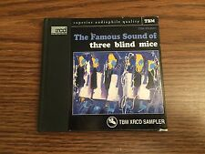 THE FAMOUS SOUND OF THREE BLIND MICE Japan Import CD TBM XRCD SAMPLER Jazz LE