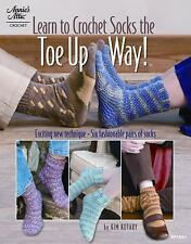 Learn to Crochet Socks the Toe Up Way! (Annie's Attic), Kotary, Kim, New Books