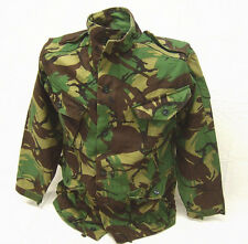 British military genuine vintage UK surplus DPM camo combat smock jacket L Short