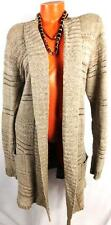 MAURICES BROWN WOMEN'S PLUS SIZE LONG SLEEVE KNIT OPEN CARDIGAN SWEATER 3, 3X