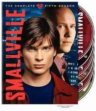 Smallville: Season 5 By Tom Welling & Kristin Kreuk  (DVD)