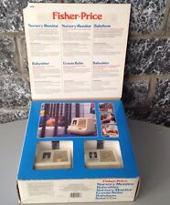 1983# CONSOLE Fisher Price Nursery Monitor #157 Complete in Box # NRFB new