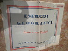 ESERCIZI GEOGRAFIA ITALIA E SUE REGIONI COPERTINA PESSIMA