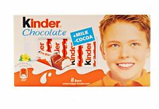 Kinder Chocolate 100g (8 bars)
