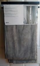 NEW DKNY Gray Suede URBAN ALLURE Window Curtain Panels 50x96 PAIR
