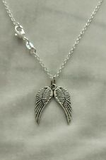 Angel Wings Charm Necklace * Daryl Dixon * Walking Dead * Cosplay * Angel *