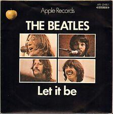 """THE BEATLES """"LET IT BE"""" SP APPLE 2461 JAPON !"""